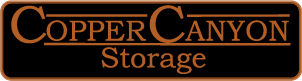 Copper Canyon Storage Logo